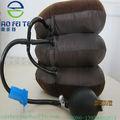 aofite inflable colchón de la tracción del cuello dispositivo de alivio de dolor de cuello cervical neumático