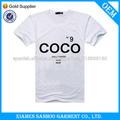 Venta caliente de alta calidad de impresión camiseta personalizada