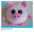 grands yeux en peluche porcs