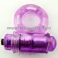 púrpura anillo vibrador pene para los hombres