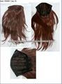 extensiones de pelo natural pinza de pelo de cola de caballo