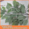Hojas artificiales, hojas de plástico para uso al aire libre