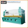 Qc11y cizalla hidráulica de la máquina, la máquina de corte para metal