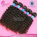 Baratos 100% cabello virgen de brasil, rizado corto brasileño extensiones de cabello, candy curl pelo brasileño