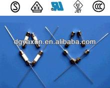venta caliente 250v 1a fusible de cristal