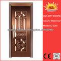 Doble la hoja de los modelos clásicos de la puerta SC-S080