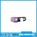 3 puertos de alta calidad reproductor mp3 usb cargador de coche