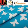 2014 sexy diseño de estampados florales de nylon del spandex tela de trajes de baño para venta al por mayor