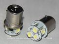 bombillo LED luz freno auto/carro/coche/camion 8 SMD