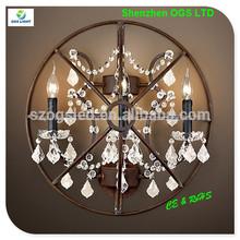 de iluminación para el hogar decoración/antigua de la pared de la lámpara de iluminación de la vendimia