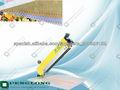 pequeño y eficaz muestra de tejido máquina de corte con zig-zag