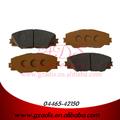 China freio fábrica de pastilhas para aca33/rav4 pastilha de freio para automóveis toyota oem: 04465-42150