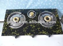 estufa de gas de la hornilla de hierro placa de vidrio fundido barato y buena calidad