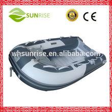plegable de pvc barco de pescainflable