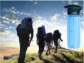 camping botella de agua al aire libre para botellas de plástico estéril