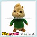 Personalizado de ardilla de peluche juguetes para la promoción, suave muñeca de ardilla