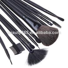 De las mujeres 12 PCS profesional del maquillaje del kit del cepillo de aire cosmética + Estuche gratis para las niñas