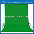 nuevo diseño de equipo de fotografía 3x6m de algodón puro verde de la pantalla de fondo de muselina de telón de fondo