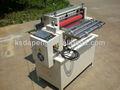 Pvc roll a la hoja de corte de la máquina( con y de corte)