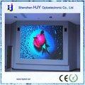 p6 led de interior pantalla programable junta