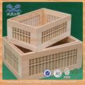 Bandeja de almacenamiento de madera