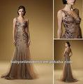 2013 chegada novo designer sem mangas beading lantejoulas tule uma linha de altura mãe da noiva vestidos rd1520