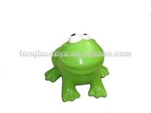 De plástico de la rana de juguete, personalizado de plástico de juguete, bebé de juguete