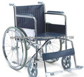 silla de ruedas manual de acero y marco de la silla y la producción de sillas de ruedas por la fábrica directamente