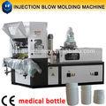 automática de botella de plástico que hace la máquina para la botella de medicina