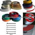 1050,1060,1100,3003 cor bobina de calha de alumínio revestido de letra de canaleta