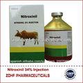 la importación de la medicina veterinaria nitroxinil de inyección
