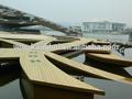 nuevo caml resistente a la corrosión pisos de madera laminada