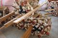 2014 barato novo piloto da escada de corda, navios de madeira da escada