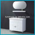 Blanco de pvc moderno cuarto de baño gabinetes counter top htbc- 5074