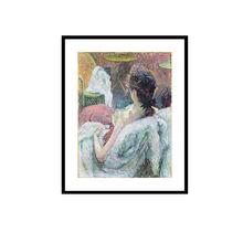 Henri de toulouse lautrec el modelo de descanso/imágenes de mujeres desnudas/desnudo femenino de la imagen
