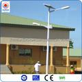 prix des lampadaires solaires /éclairage public solaire avec le poteau