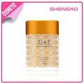 OEM cosméticos de cuidado de la piel y activa Bio Bio-oro y oro crema de noche de la perla