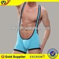 Wangjiang exotiques. vêtements. corps en nylon costume. boxeurs clip porte-jarretelles