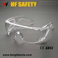lente de policarbonato material de gafas de seguridad