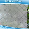satinado mate película de la ventana de vidrio de la película de vinilo para la decoración de cristal de oficina