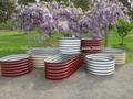 Cama Cama planteadas jardín jardín de acero corrugado para el cultivo de flores