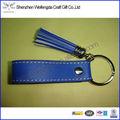 Nuevo Y único Diseño Exquisito Y Moda Llavero Cuero En Color Azul