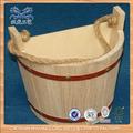 pequeño barril de madera para la venta