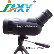 Jaxy 9- 27x50 45 mm compacto en ángulo zoom telescopio terrestre de caza prismáticos