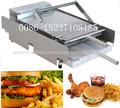caliente venta de hamburguesas máquina tostadora de pan para hornear de la máquina