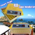 48 ovos Incubadora / ovo de codorna Ovos Hatchers/132 Nascedouros totalmente automático e totalmente automático, CE aprovou, gar