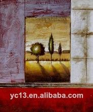 Obras de arte hecho a mano de pintura al óleo del hotel ct-291 imágenes