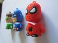 Usb dos desenhos animados flash drive spider-man