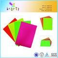 qualidade do artesanato de papel colorido de alta fluorescente