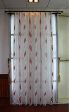 nuevo estilo de la moda de gasa jacquard tela de la cortina